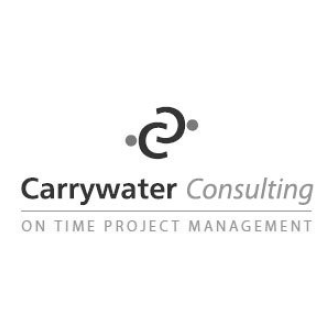 Carrywater logo gray